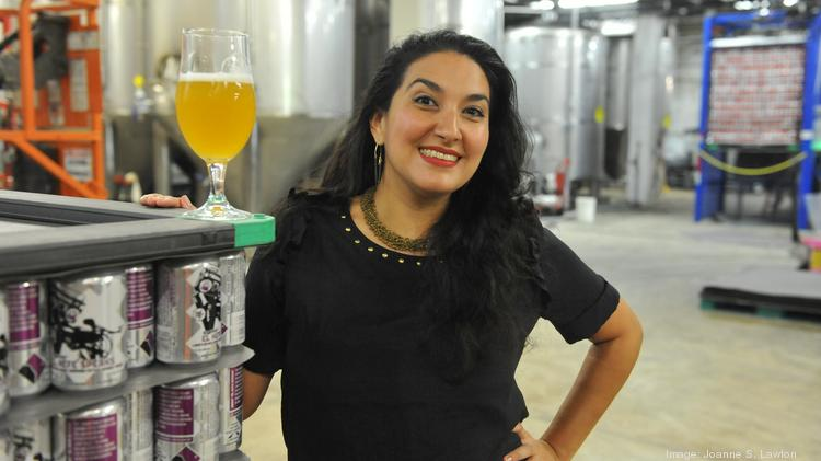 Mari Rodela, president of the D.C. Brewers' Guild and chief community and culture officer at D.C. Brau.