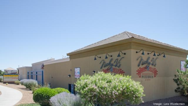 The Vista del Bosque shopping center on 9780 Coors Blvd. NW is now listed on auction.com for an August 25 bid start. The 11,500-square-foot center's tenants include Nicky V's Pizzeria & Tap Room and Chinshan Restaurant.