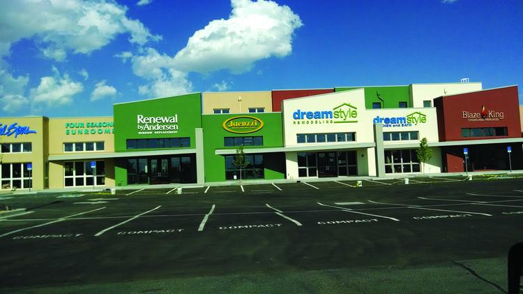 The Dreamstyle Remodeling building. (Photo courtesy Dreamstyle)