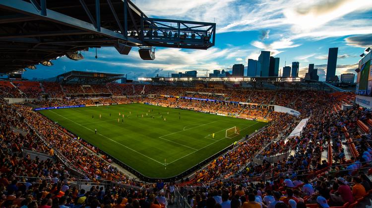 BBVA Compass Stadium nabbed top honors among Major League Soccer stadiums at the Green Sports Alliance's 2016 summit in Houston.
