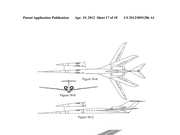 A 2012 Gulfstream patent filing showing the possible look of a supersonic jet.