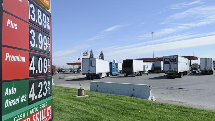 Sacramento gas prices have dropped 14 cents in the last month.