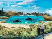 SeaWorld's Blue World Project will first be built at its San Diego park and later the Orlando and San Antonio parks.