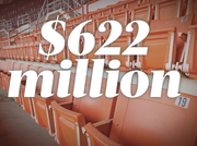 Houston's six sports stadiums with corporate sponsorships collectively have a value of $622 million. What's the value of that?