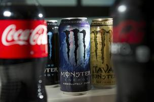 Monster and Coke