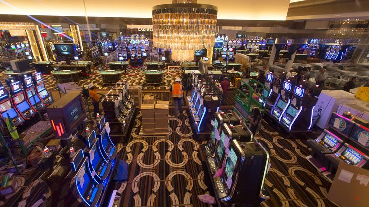 A look inside the Horseshoe Casino Baltimore as it prepares to open.