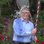 Gates invents system to douse himself with ice water to benefit ALS patients