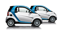 Founded in 2008, Car2Go's service is available in cities and regions including Denver, Atlanta and southern California.