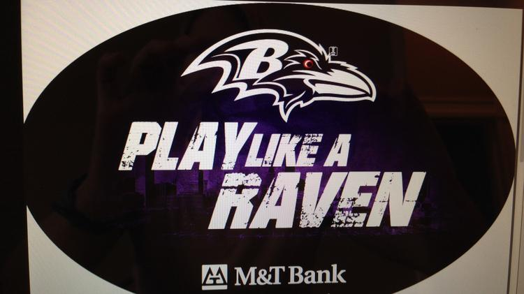 The Ravens and M&T Bank kick off another ad campaign on Monday that focuses on teamwork. This magnet will be part of the promotion.