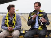 Columbus Crew majority owner Anthony Precourt, left, hired Andy Loughnane as the team's president of business operations.