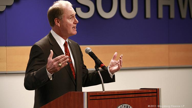 Gary Kelly, president and chief executive officer of Southwest Airlines Co., called on the Federal Aviation Administration to update its technology.