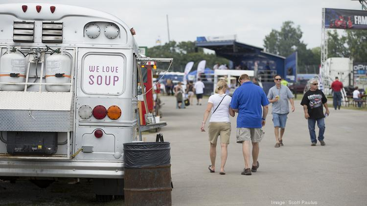 Food trucks and mobile food vendors will not be allowed in downtown Gibsonville.