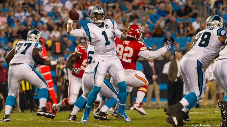 Panthers quarterback Cam Newton fires a pass in a preseason game against the Kansas City Chiefs. If you are a subscriber to NFL Sunday Ticket to watch Newton and other NFL stars, it looks like you will be sticking with DirecTV for the service.