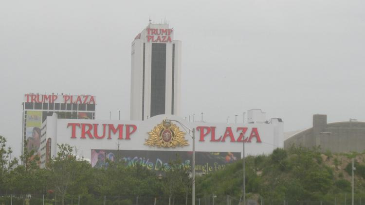 Trump Plaza, one of three casinos closing in the coming weeks, swung to a loss in the second quarter.