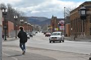 A main street in the village of Ilion.