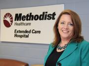 Sandra Bailey, CEO of Methodist Extended Care Hospital