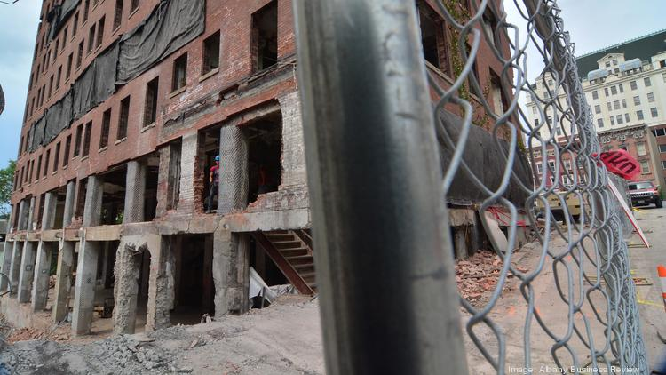 This week's planned implosion of the former Wellington Hotel Annex in downtown Albany, New York will be briefly disruptive to some workers, businesses and property owners.