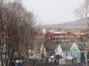 The Remington factory is perhaps the tallest point in Ilion, rivaled only by a church steeple or the apartment building for seniors and low-income residents.
