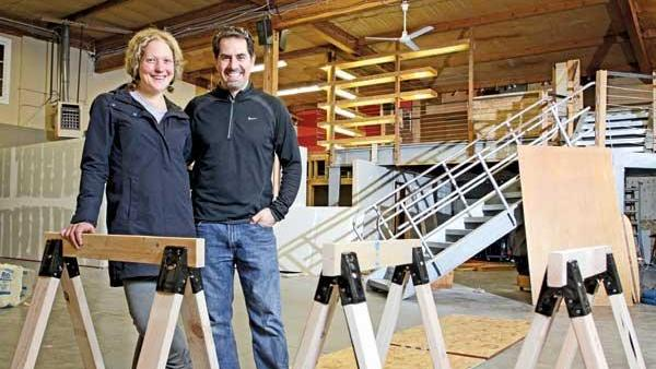 MakerHaus was founded by wife and husband Ellie and Mike Kemery. The huge Fremont space for makers could not get enough customers to sustain business.