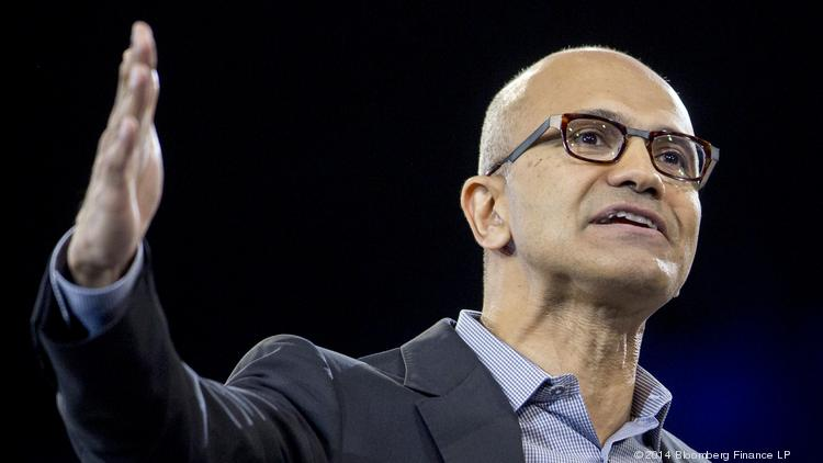 Satya Nadella, chief executive of Microsoft.