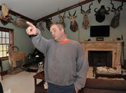 Peter Stone, owner of PEMS, has 43 taxidermied animals in his home from past hunting trips to places such as Africa, Alaska and Newfoundland.