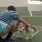 High schoolers fly quadcopters in first-ever UAS challenge