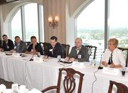 Panelists described the state of manufacturing in South Florida at the Tower Club event.