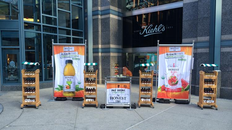 Honest Tea set up unmanned kiosks, where 461 out of 484 participants paid. Twenty-three did not.
