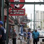 Beale Street cover charge continues despite sales hit