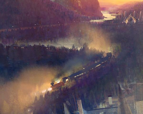 The Hogwarts Express is expected to transport guests between the Harry Potter attractions at the two parks.