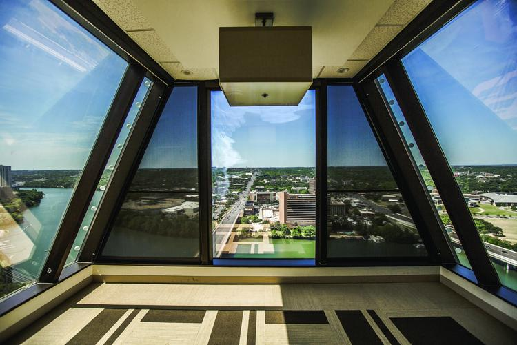 This is the view the law firm of Waller Lansden Dortch & Davis LLP will enjoy when it moves its Austin practice, which is focused on health care law, to 100 Congress Ave.