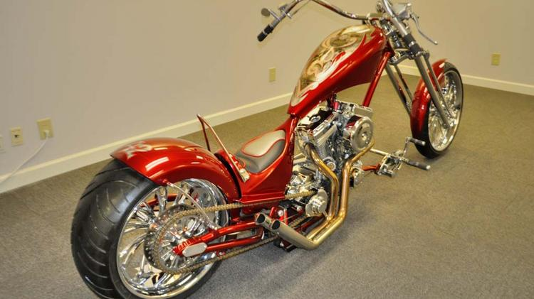 Lorenzen Wright's custom motorcycle will be available for auction this week