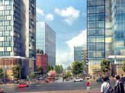 A street view rendering of One Conshohocken, a $200 million mixed use project.