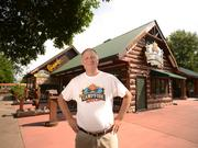 Tim 'Giggles' Weiss opened his Campfire Grill at the State Fair in 2000.