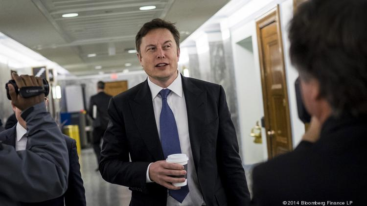 Elon Musk, co-founder and chief executive officer of Tesla Motors Inc.