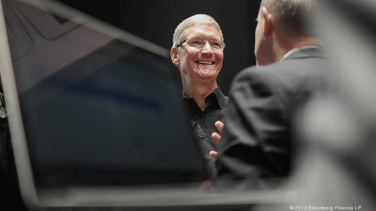 Tim Cook, Apple's CEO, is wading into deeper pools of personal information from users of his companies' devices.