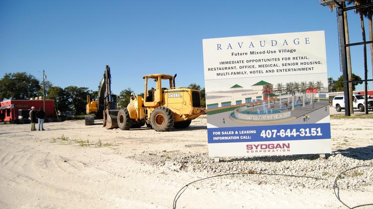 Developer Dan Bellows said more parking is on tap for the Ravaudage mixed-use project in Winter Park.