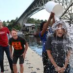 Zillow, Zulily, Tableau and other local tech CFOs get soaked for the Ice Bucket Challenge (Video)