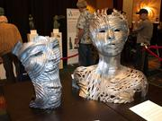 Art created at the January 3D Printer World Expo in California