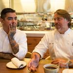 Celebrity chefs <strong>John</strong> <strong>Besh</strong>, Aarón Sánchez are ready to 'combine and conquer' at Horseshoe Casino