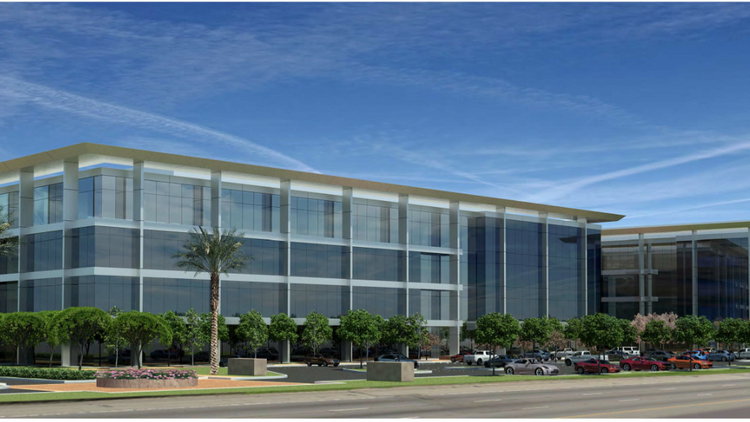 The Sobrato Organization aims to start work immediately after receiving approvals for the Commonwealth Corporate Center in Menlo Park. The architect is Arc Tec Inc.