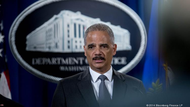 Attorney General Eric Holder says Bank of America has been held accountable for selling fraudulent mortgage securities.