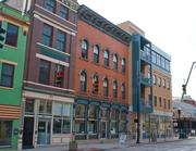 In Over-the-Rhine, new construction blends with historic architecture.