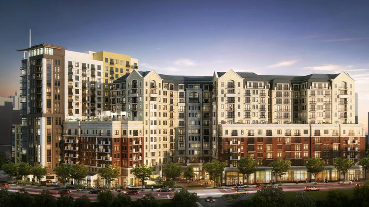 A rendering of the Buckingham Midtown project.