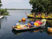 The Chihuly exhibition at the Dallas Arboretum and Botanical Gardens helped boost attendance by 42 percent in 2012.