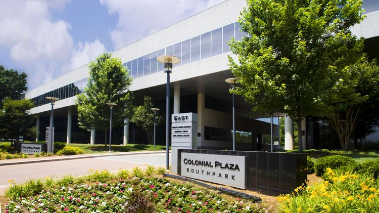 Colonial Plaza, located at 2101 Rexford Road, totals 211,810 square feet.