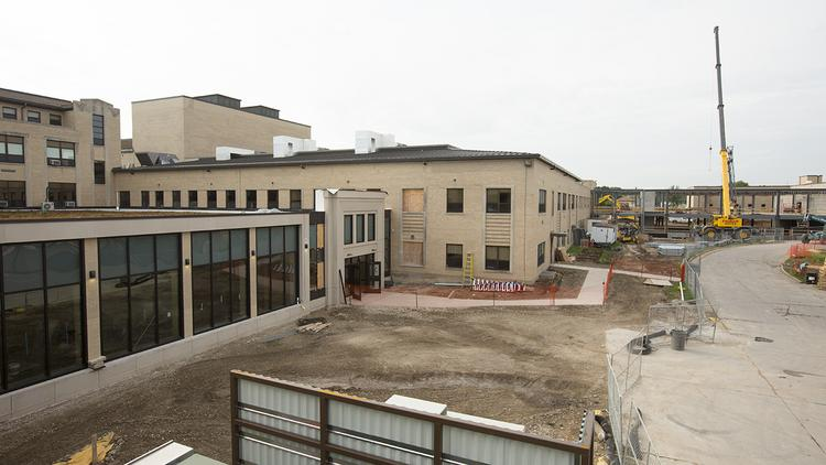 Major construction and renovation at Alverno College in the works.