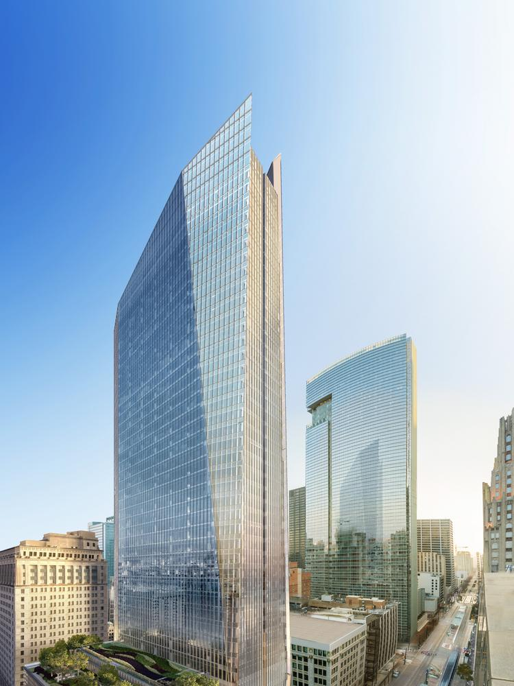 609 Main at Texas is currently the largest spec building under construction in Houston, with 1.05 million square feet.