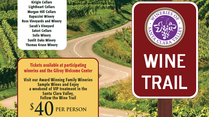Santa Clara Valley wineries are banding together to increase public visibility and spur more tourism with a new wine trail launching this weekend.