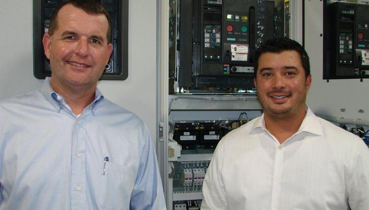 Cordyne Inc. President Ben Devine, left, and Vice President Justin Morgan recently acquired a new manufacturing facility in northwest Houston.